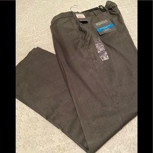 NWT Perry Ellis Dark Gray Dress Pants 40 X 32